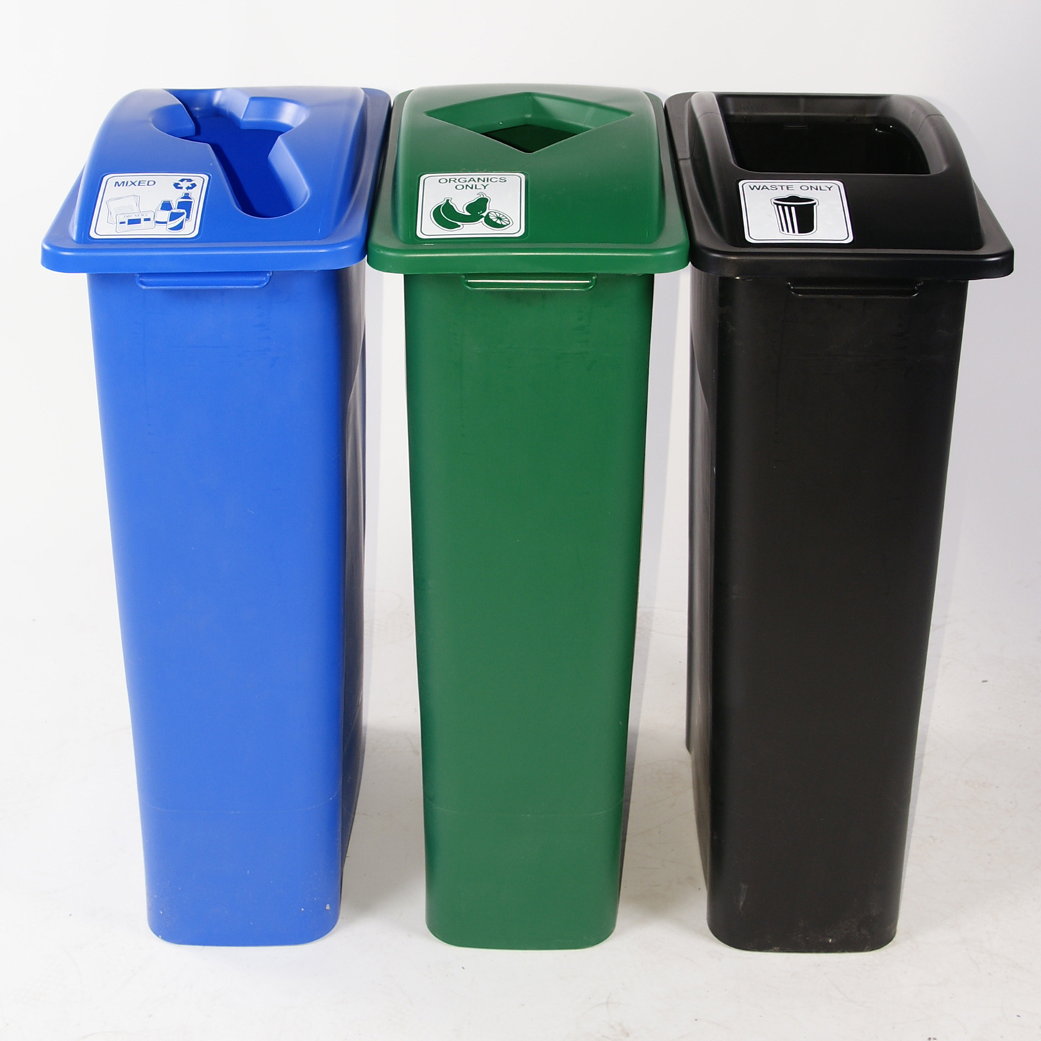recycle bins Trash cans & recycling bins \ recycling bins trash cans & recycling bins - recycling bins featured product rubbermaid on flickr rubbermaid.