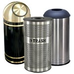 Metal Trash Cans for Indoor