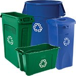 Rubbermaid Recycling Waste