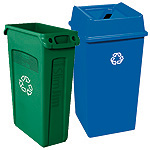 Outdoor Trash Receptacles