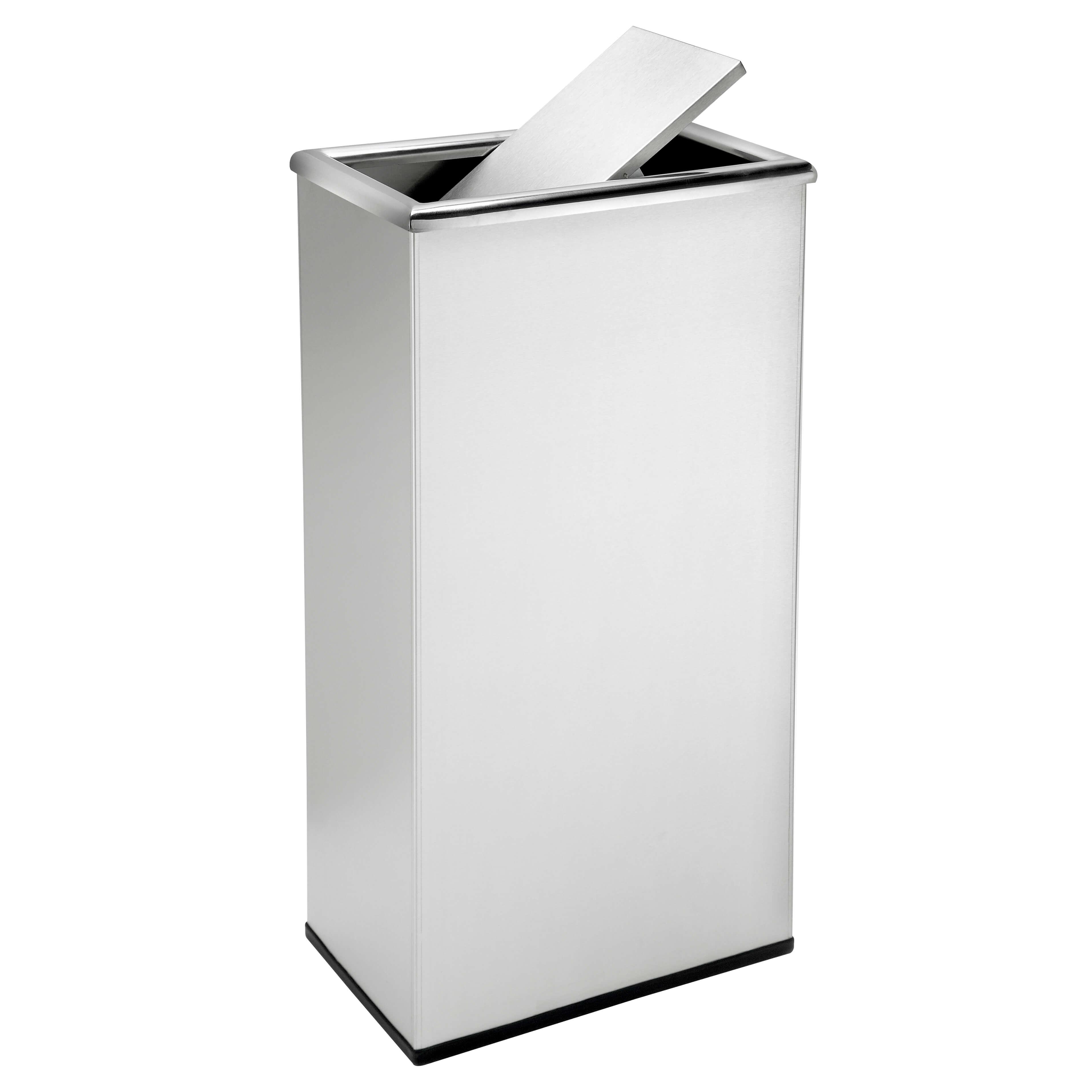 13 Gallon Steel Trash Can Swivel Top Trash Can
