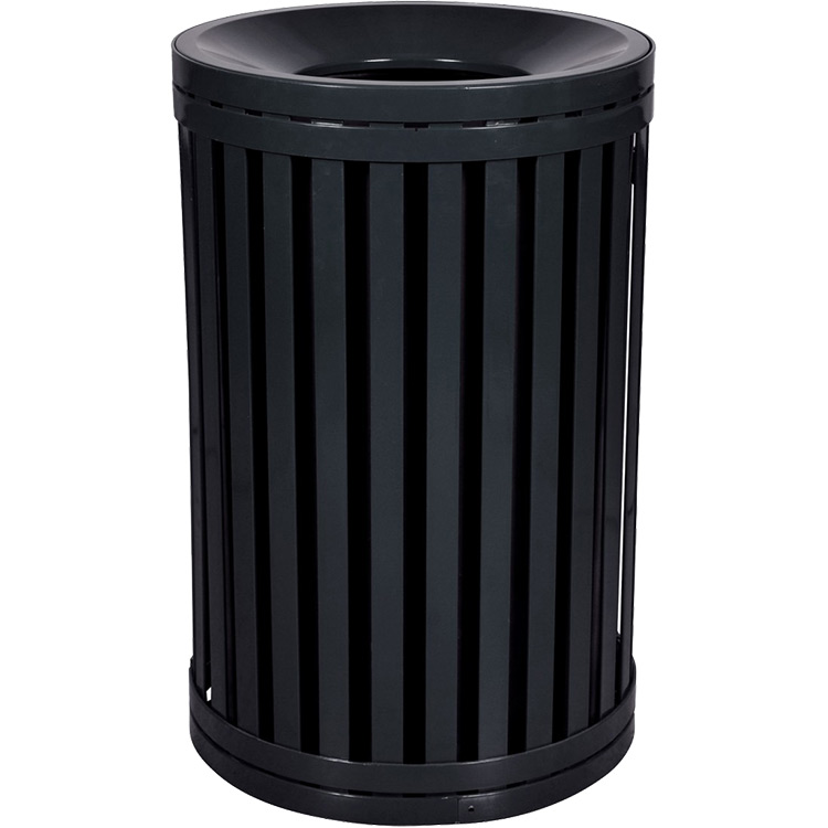 Modern Garbage Can | Funnel Top Trash Can | Exterior Trash Cans