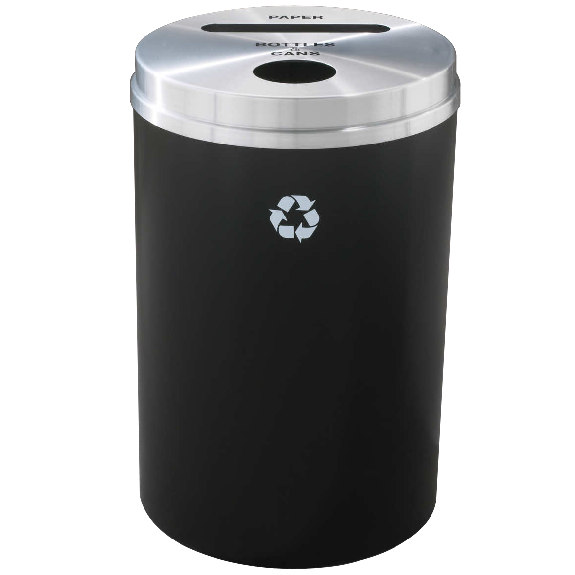 glaro dual opening trash collection bin trash cans warehouse. Black Bedroom Furniture Sets. Home Design Ideas