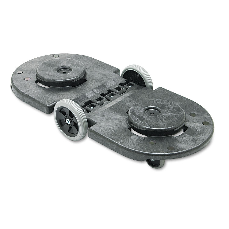 Rubbermaid Brute Dual Dolly For Garbage Cans Trash Cans