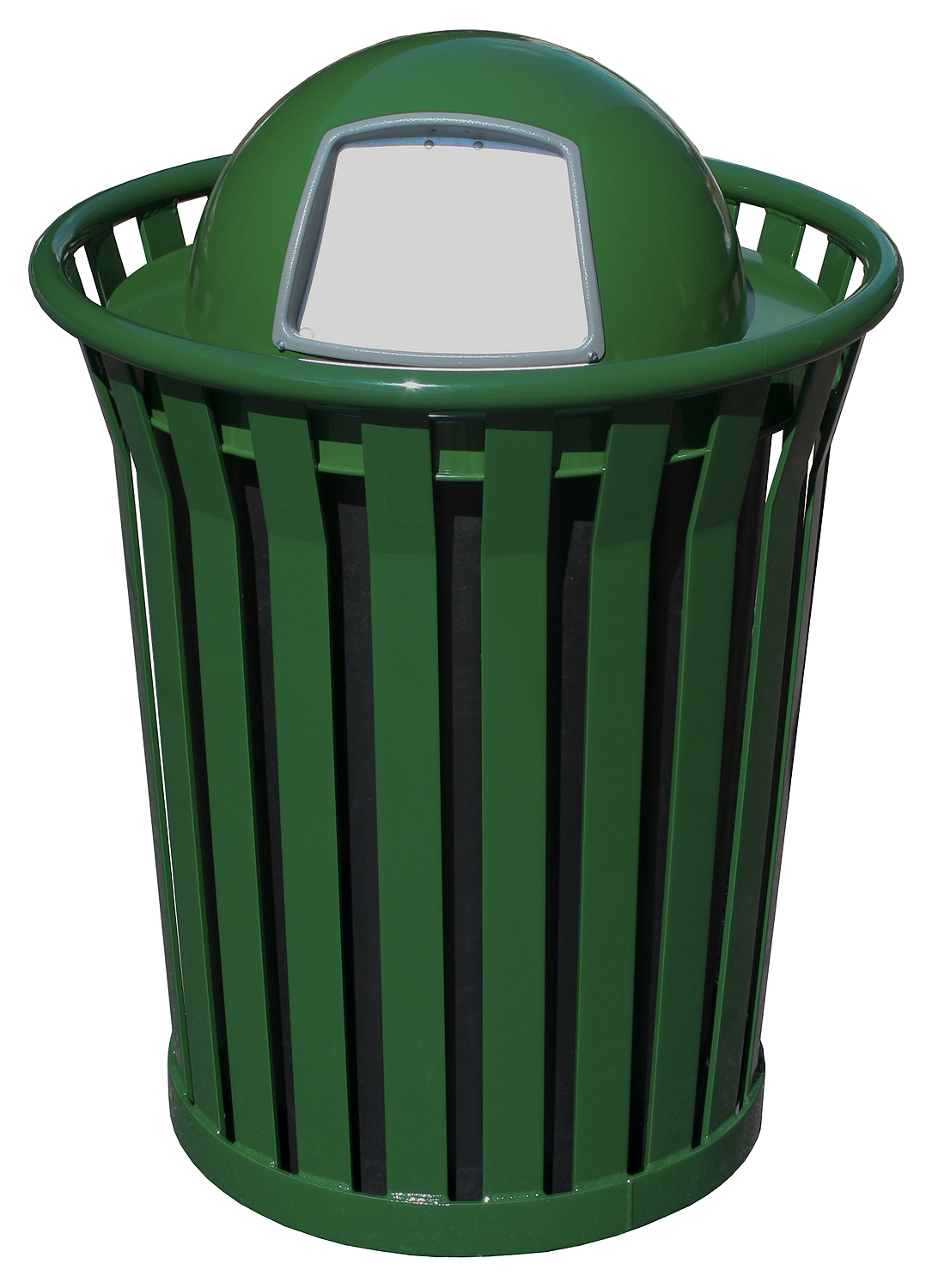 Wydman 36 Gallon Slatted Trash Receptacle Trashcans