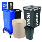 Back-of-House Trash Cans