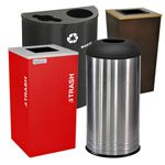 Front-of-House Trash Cans