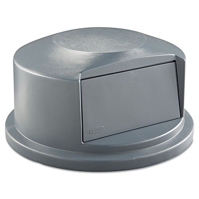 Brute Dome Top Lid with Push Door for 44-Gallon Container