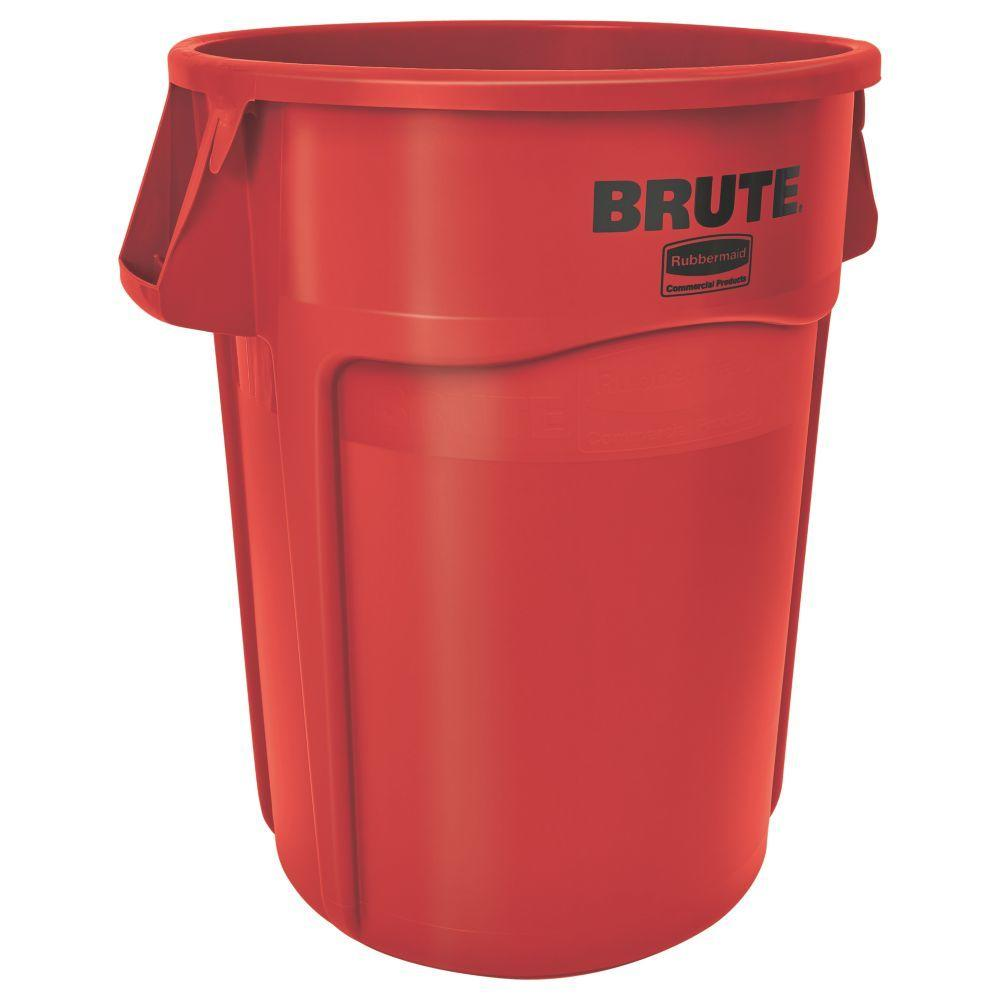 Rubbermaid BRUTE 32 Gallon Container p 565 on outdoor trash receptacles commercial