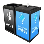 ErgoCan Square Value Wipe & Waste Station