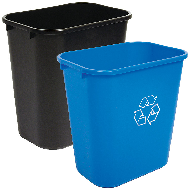 28 Quart Recycling And Waste Basket Combo