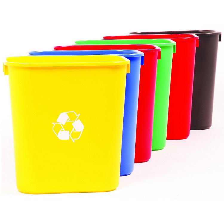 outdoor trash can dimensions desk trash bin medium sized trash can recycle waste baskets