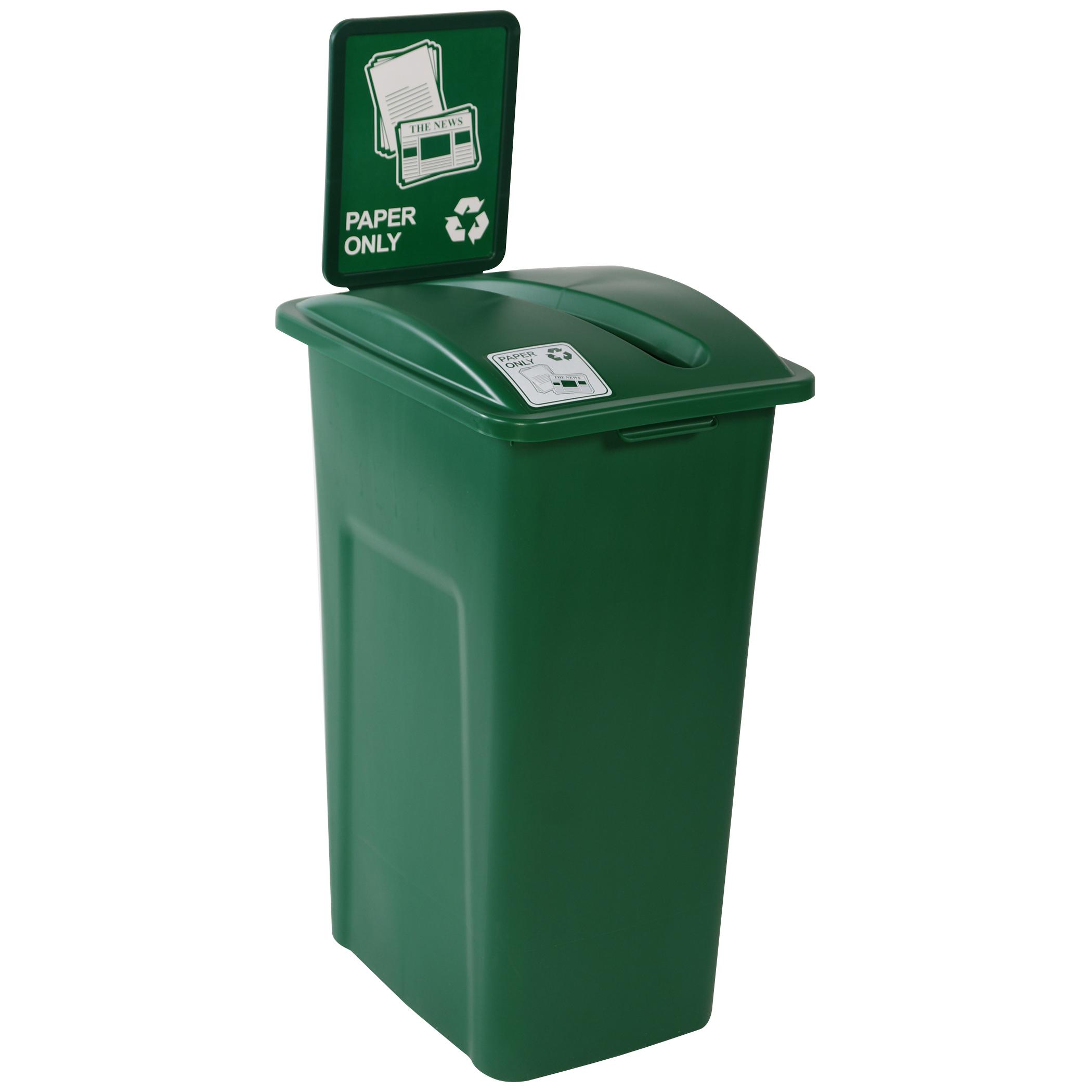 32 gallon recycling bin recycling bin for sale. Black Bedroom Furniture Sets. Home Design Ideas