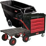 Rubbermaid Utility Carts and Tilt Trucks