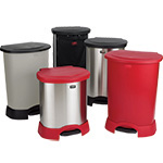 Rubbermaid Step Cans