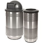 Outdoor Stainless Steel Trash Cans