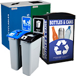 Office Recycling and Waste Containers