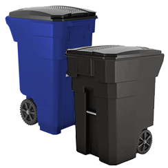 bf03f4705f9 Outdoor Trash Receptacles · Trash Cans with Wheels