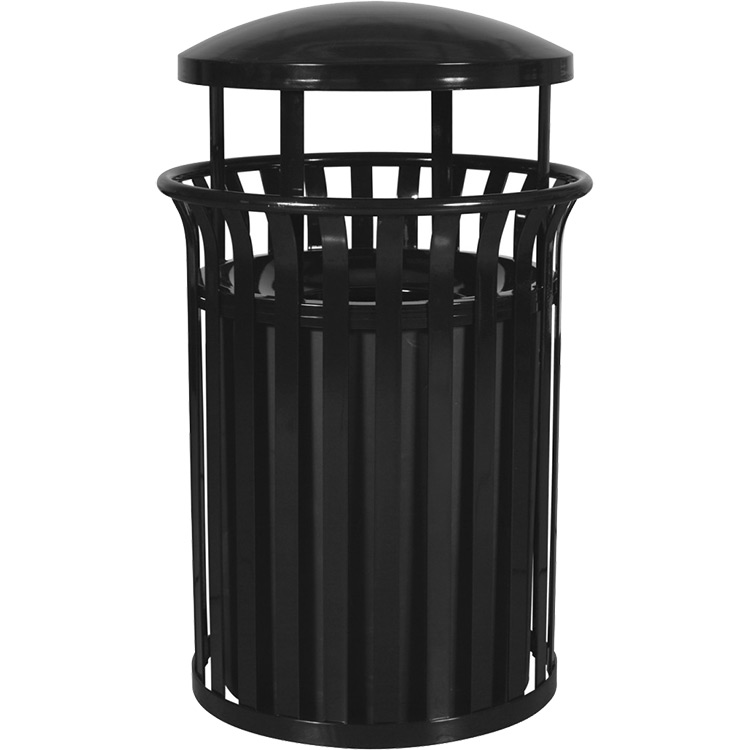 Rubbermaid BRUTE 32 Gallon Container p 565 as well Streetscape Classic Trash Receptacle With Rain Hood p 2658 further Model 12780829rectangular Waste Bin also mercial Trash Can Cabi in addition Outdoor Fake Bamboo Reeds. on outdoor trash receptacles commercial