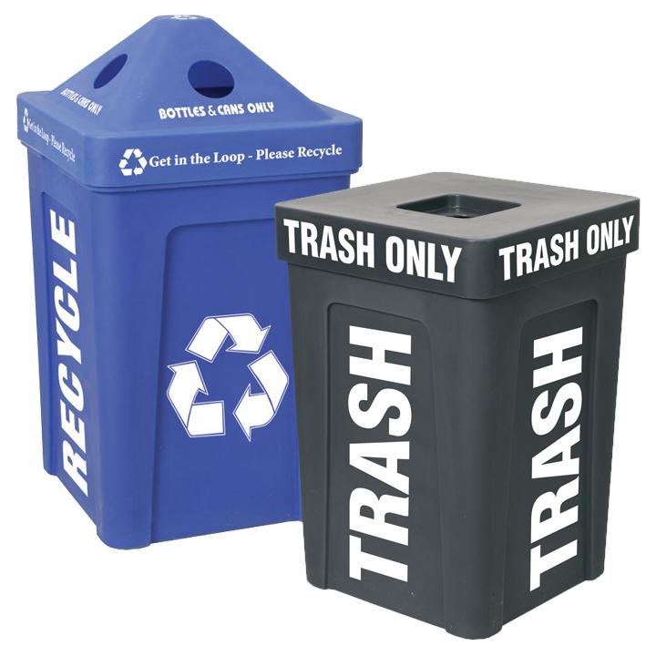 Trash Bin I