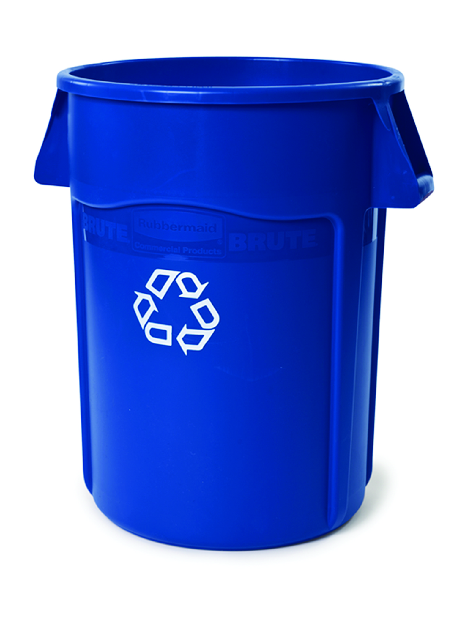Rubbermaid 44Gallon BRUTE Blue Utility Recycling Container 2643