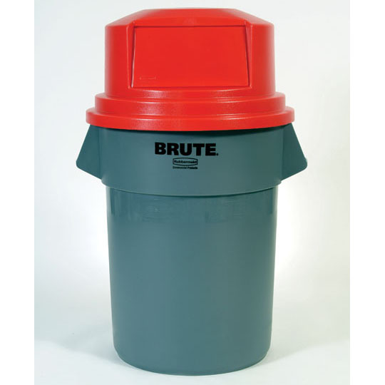 55 Gallon Trash Can Brute Garbage Cans Brute