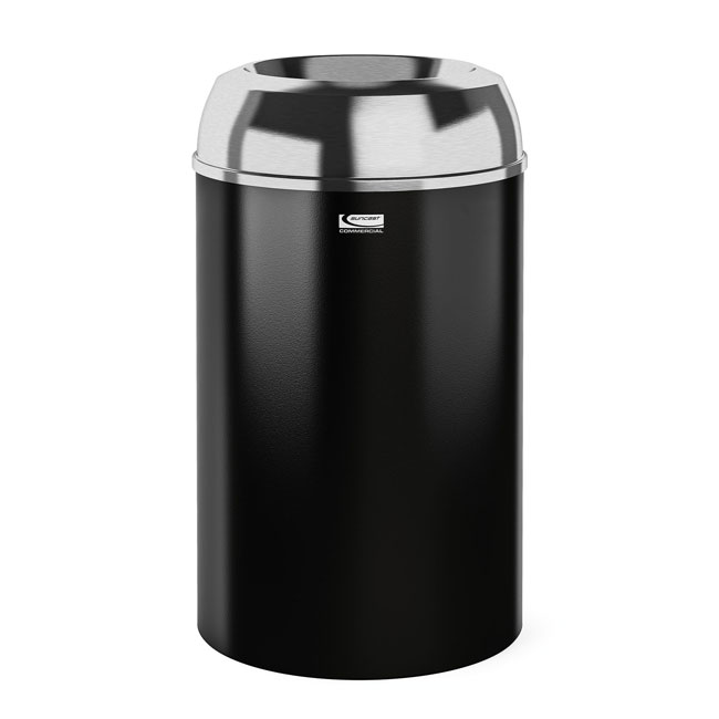 30 Gallon Metal Indoor Trash Can