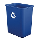7 Gallon Desk-side Resin Recycling Bin