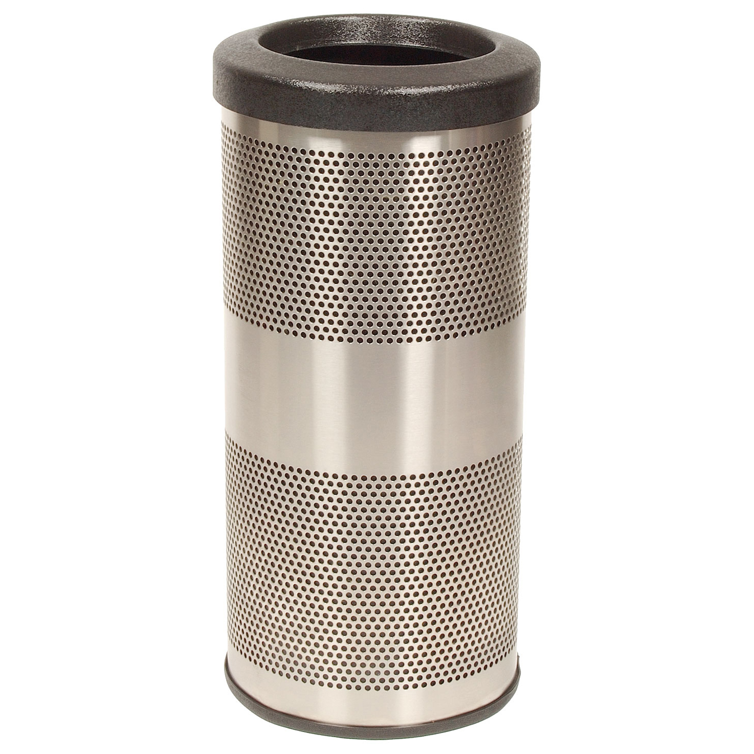 10 Gallon Stainless Steel Trash Can Perforated Trash Can