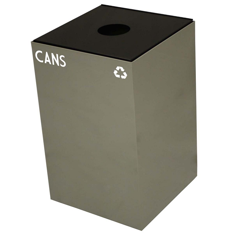Witt Industries 24GC02 SC Steel 24 Gallon Geo Cube Recycling Container Slot