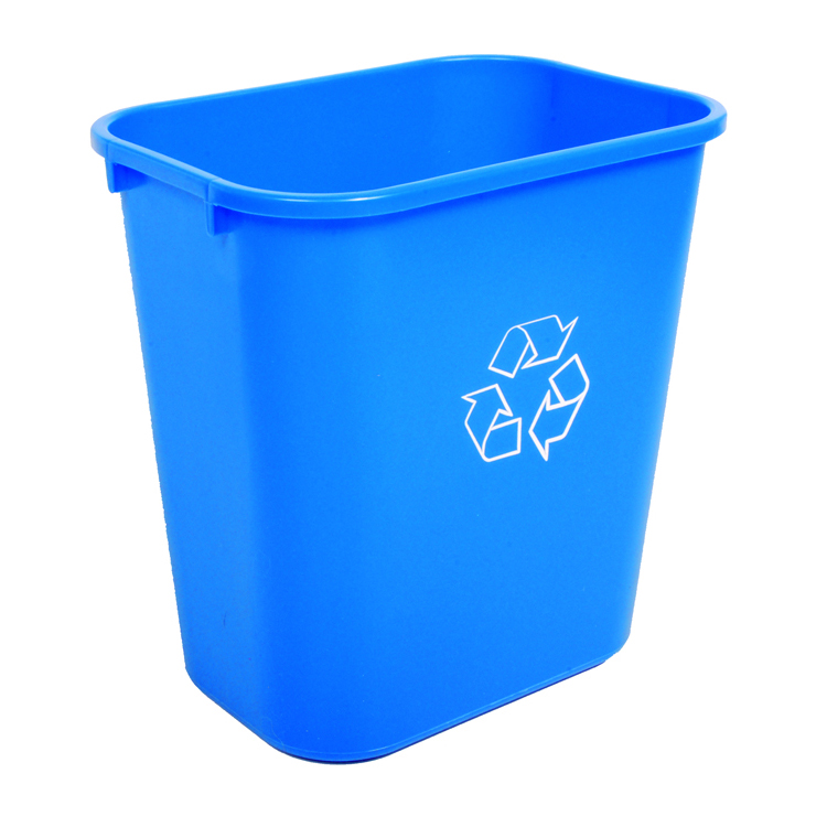 Waste Basket desk trash bin | medium sized trash can | recycle waste baskets