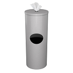 Cleanli Wipe Dispenser & Waste Bin | Silver Sparkle
