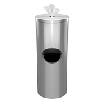 Cleanli Wipe Dispenser & Waste Bin | Stainless Steel