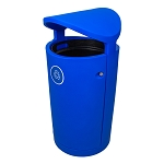 The Euro 36 Gallon Recycling Container w/Canopy