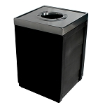 The 50 Gallon Evolve Cube Recycling and Waste Receptacle