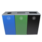Spectrum Three-Stream Cube Recycling Station