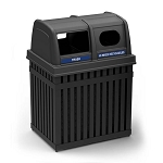 ArchTec Parkview Double Trash and Recycle Bin