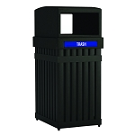 ArchTec Parkview Single Trash Receptacle