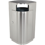 Leafview 40 Gallon Trash Receptacle