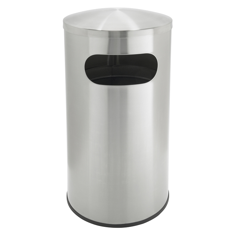 stainless steel large capacity trash can