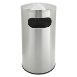 Allure Stainless Steel Waste Receptacle