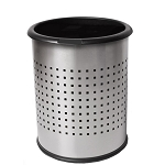 InnRoom Decorative Wastebasket with Black Liner