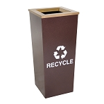 Metro Single Stream Waste and Recycling Receptacle