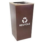 Metro XL Combo Waste and Recycling Receptacle