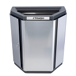 Echelon Half-Hex Waste Receptacle