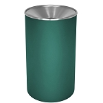 Premier Stainless Steel Waste Receptacle with Color Body