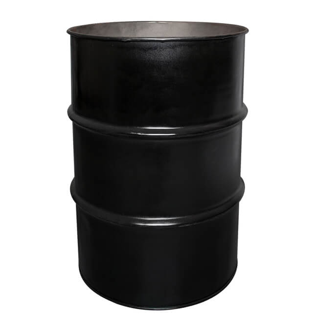 55 Gallon Parks And Recreation Metal Drum Container