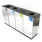 Edge Four-Stream Recycling & Waste Station