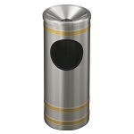 Capri Ash/Trash Receptacle with Funnel-Top