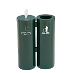 Wipe Dispenser & Waste Container Combo in Designer Colors